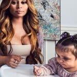 Baby Kardashian gelukkig in goede handen