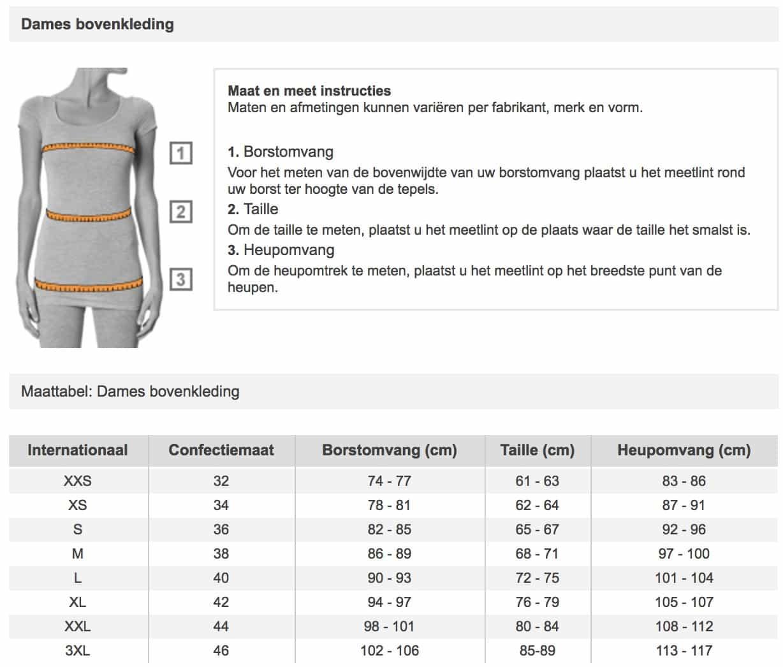 Heren Overhemd Maattabel.Maattabel Van Zalando Bekijk Alle Tabellen Super Handig Famma Nl