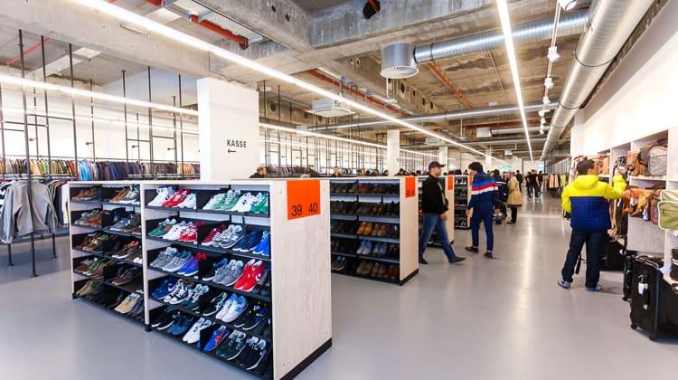 Outlet Zalando store